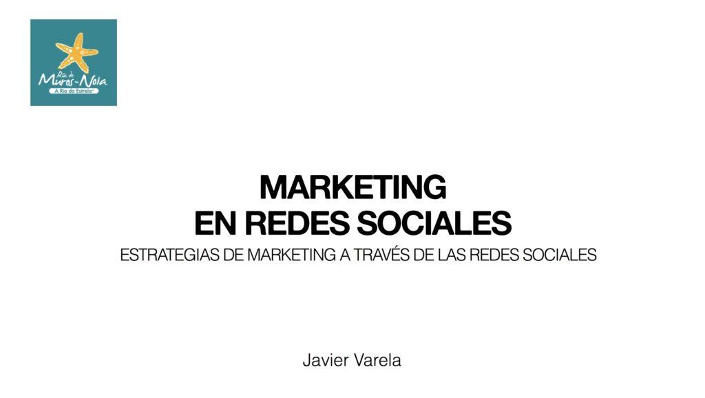 Curso Marketing Redes Sociales - Javier Varela