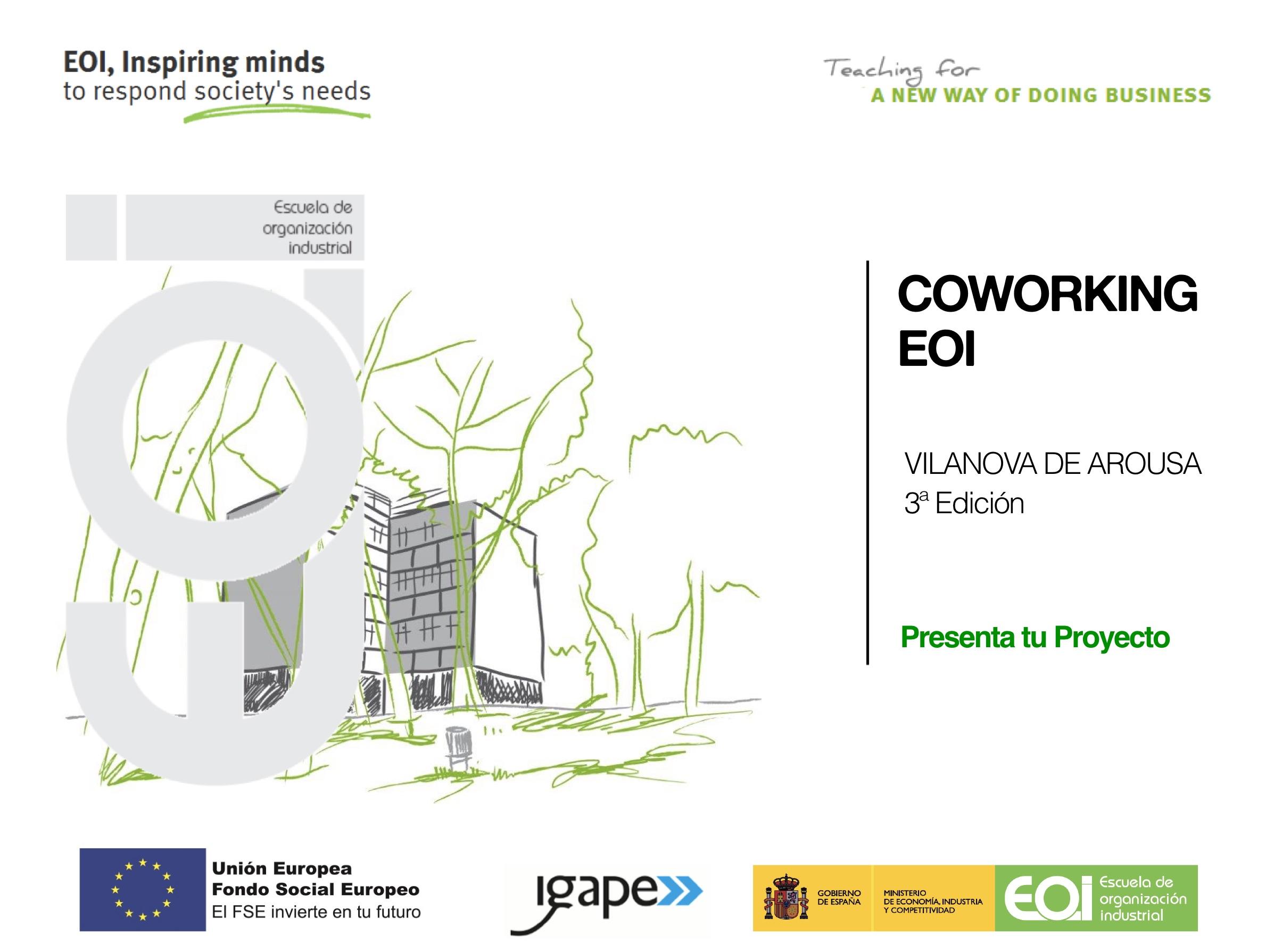 Cowworking EOI Vilanova De Arousa - 3ª Edicion Emprendedores