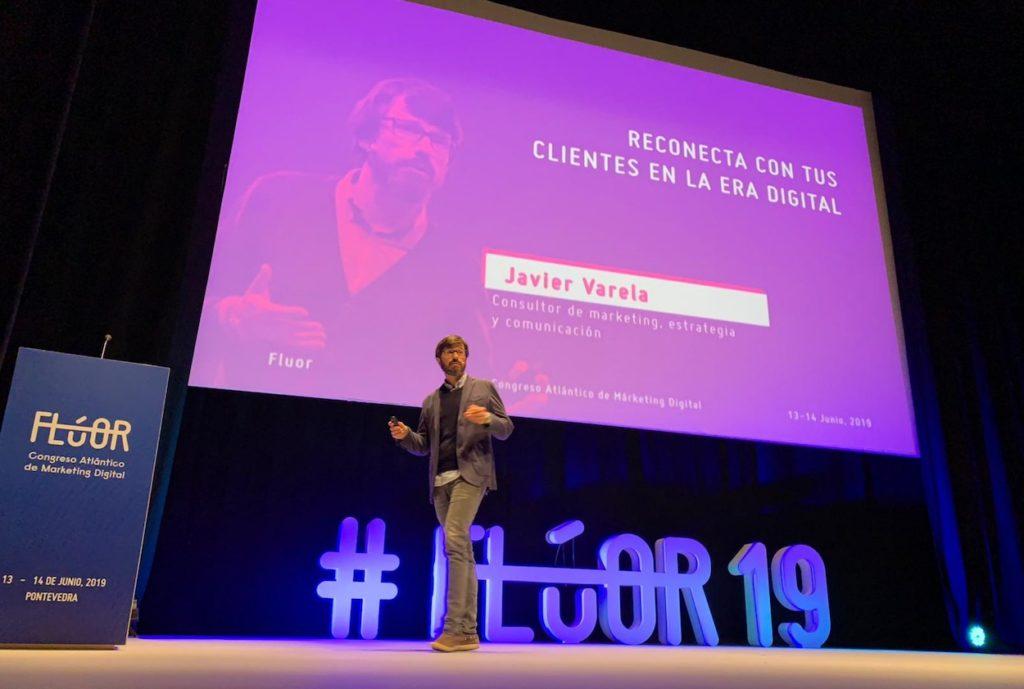 Javier Varela ponente en Congreso Flúor Marketing 2019 - Pontevedra