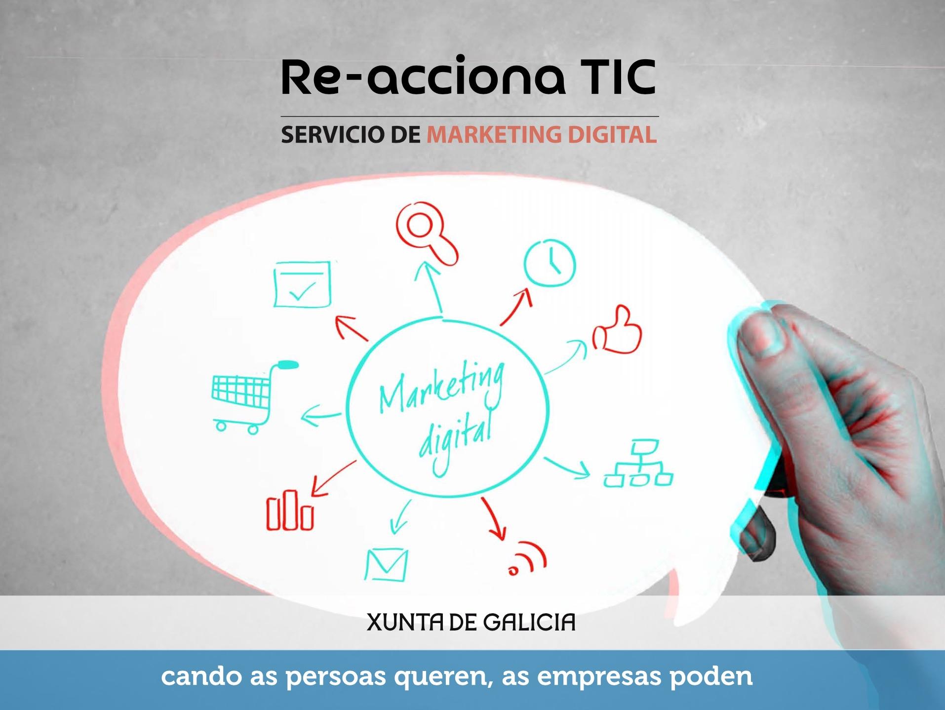 Marketing Digital Del Programa Reacciona TIC