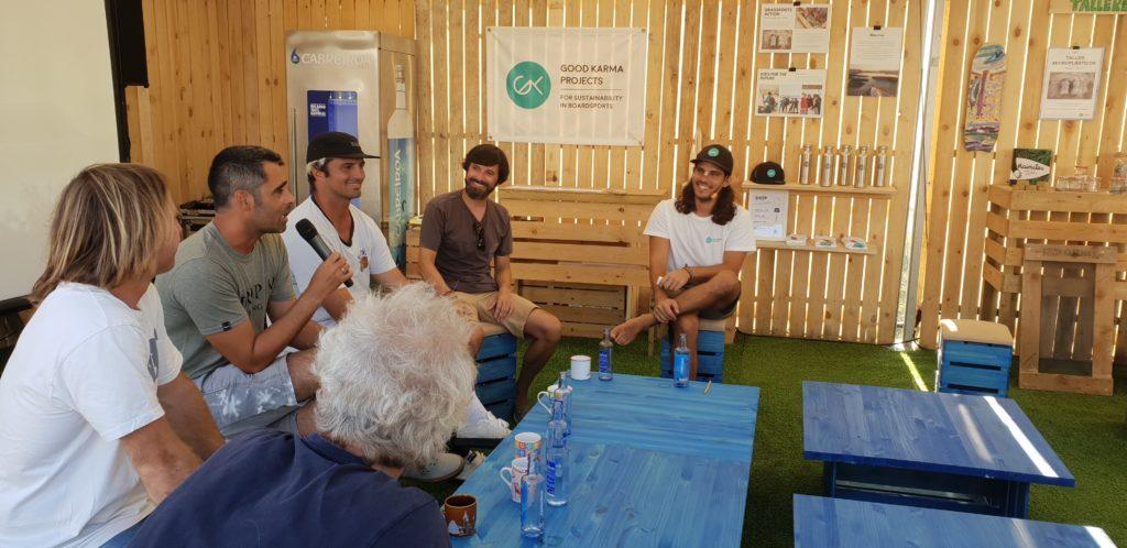 Mesa redonda Sostenibilidad en el Surf - Javier Varela - Pantín Classic Surf