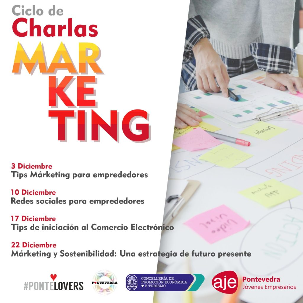 Ciclo de Charlas sobre Marketing con Javier Varela - Aje Pontevedra